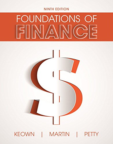 Foundations of Finance (9th Edition) (Pearson Series in Finance)