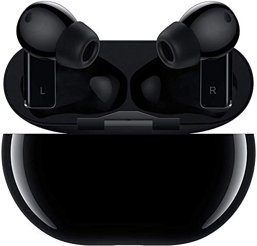 HUAWEI FreeBuds Pro Negro - Auriculares inalámbricos Bluetooth con cancelación Inteligente de Ruido, Sistema de 3 micrófonos, Carga inalámbrica rápida, Pequeño