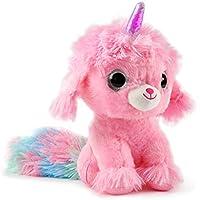WowWee Ploosh Glowcorns Puppycorn Interactive Plush with Light-up Horn