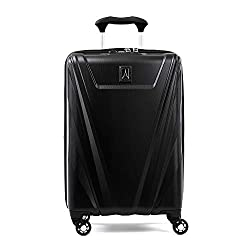 professional Travelpro Maxlite 5 hard side trolley case, black, baggage, 21 inches