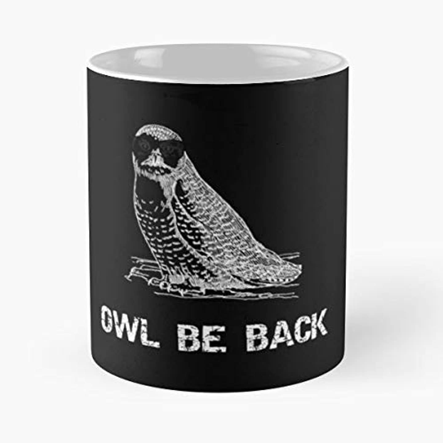 Owl Barn Snowy White - 11 Oz Coffee Mugs Ceramic The Best Gift For Holidays, Item Use Daily