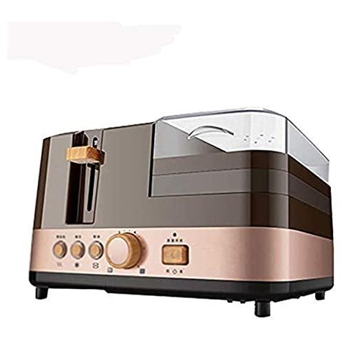 Kaidanwang Tostador 4 en 1 Máquina de Desayuno eléctrico multifunción Tostadora Máquina...