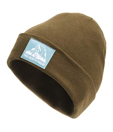 The North Face Dock Worker Recycled Beanie, Military Olive, OS