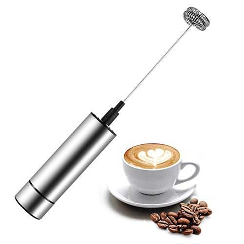 WZ Elektrische melkopschuimer met dubbele kop, roestvrij staal, voor koffie, badstof