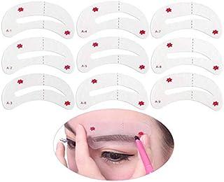 Socto - Kit de plantillas para maquillar y dar forma a las