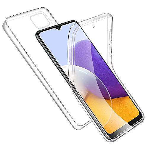 RosyHeart Funda Compatible con Samsung Galaxy A22 5G, Transparente Carcasa TPU Silicona...