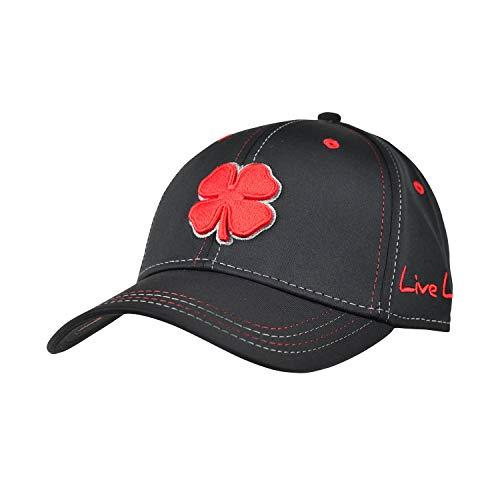 Black Clover Premium Clover 24 Flex Cap, Black/Red, L/XL