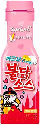 SAMYANG BULDARK Koreanisches Feuer-Nudel Challenge Hot Chicken Flavor Ramen Spicy Nudle Tteokbokki Rabokki Buldak Rabokki & Carbo Buldak Sauce