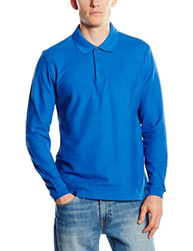 Fruit of the Loom SS037M, Polo para Hombre, Azul (Royal Blue), X-Large