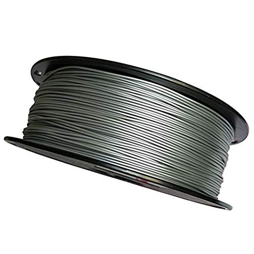 Kehuashina Direct store Silver 3D Printer Super Special SALE held Filament PLA Spool Metal 1KG 1.75mm