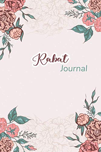 Rabat Notebook: Gift for Rabat Citizens Travellers and Lovers, 100 Timeline Pages of High Quality, 6
