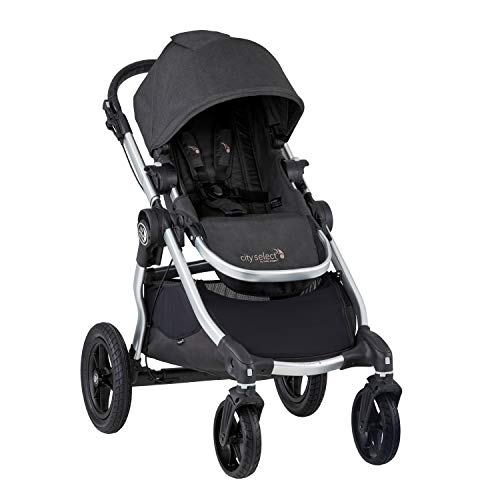 Image of Baby Jogger City Select Stroller | Baby Stroller with 16 Ways to Ride, Goes from Single to Double Stroller | Quick Fold Stroller, Jet