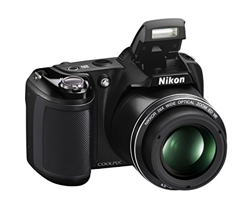 Nikon Coolpix L330 Digital Camera (Black) (Renewed)