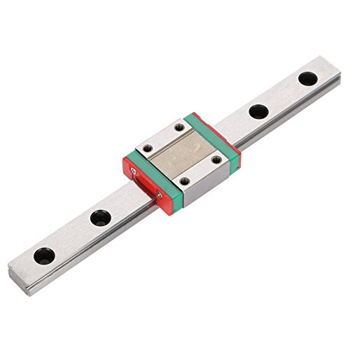 logozoee Guide Rail Linear Rails Linear Rail, Linear Guide Rail, for 3D Printer for DIY CNC Machine Automatic Equipment(150mm)