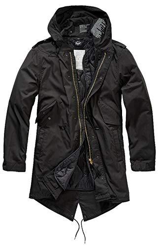 Brandit M51 US Parka, schwarz, Größe XL
