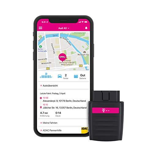 Deutsche Telekom CarConnect Adapter inkl. 120€ Amazon-Gutschein - Internet-Tarif mit insgesamt 120 GB LTE Datenvolumen, OBD2 Stecker mit WLAN Hotspot und GPS
