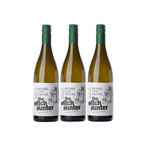 Hensel & Gretel Witch Hunter Sauvignon Blanc Weißwein Wein Deutschland (3 Flaschen)