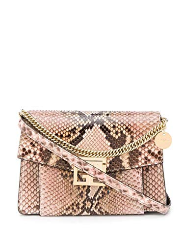 Luxury Fashion | Givenchy Dames BB501CB0Q8688 Roze Leer Schoudertassen | Lente-zomer 20