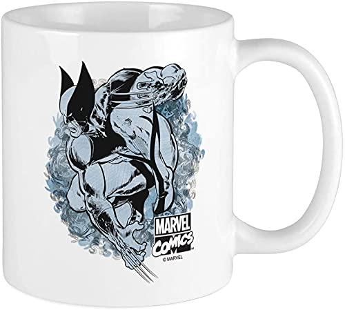 Wolverine - Taza de café (14 onzas), apta para microondas y lavavajillas