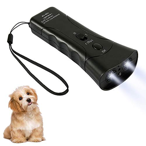 ODOMY Bark Control Device Handheld Ultrasonic Dog Deterrent Training Silencer Stop Barking Device, Outdoor Electronic Pet Gentle Repellent Control...