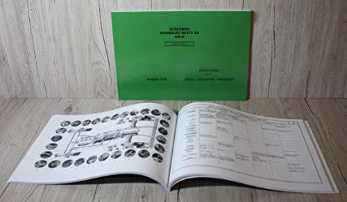 DEUTZ Werkstatthandbuch Traktor FM und FL Baureihe Richtlinien für die Deutz Schlepper Werkstatt Ausgabe 1956