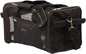 Sherpa Travel Delta Air Lines Pet Carrier, Medium, Black