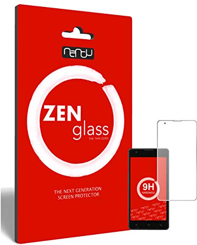 ZenGlass Flexible Glas-Folie kompatibel mit Medion Life E5020 Panzerfolie I Bildschirm-Schutzfolie 9H