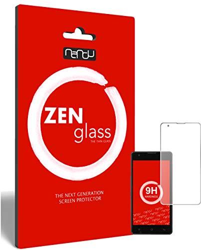 ZenGlass (2 Stück Flexible Glas-Folie kompatibel mit Medion Life E5020 Panzerfolie I Bildschirm-Schutzfolie 9H