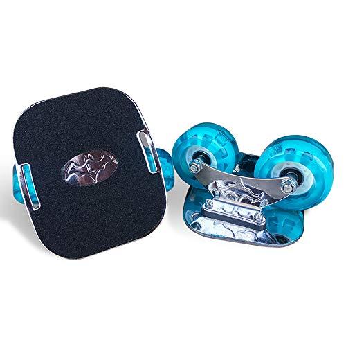 MALY Outdoor-Freeline Roller Skates, PU-Rollen und ABEC-9 608 Bearings Skateboard Straße Drift Skates Platte