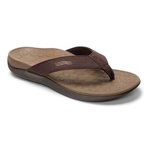 Orthaheel Women's Tide Thong Sandals (9,Black)