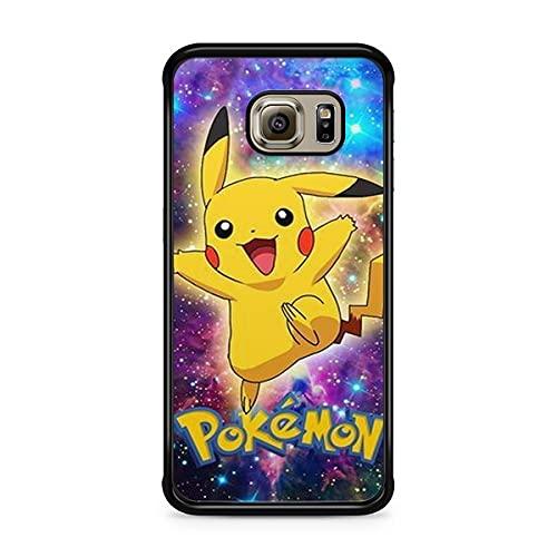 Coque pour Samsung Galaxy S8 Plus (Grand Ecran) Pokemon go Team Pokedex Pikachu Manga Tortank Game Boy Color Salameche Noctali Valor Mystic Instinct Case 22
