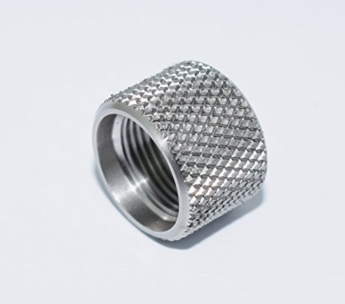 1/2 x 28 Barrel Thread Protector 9mm Stainless