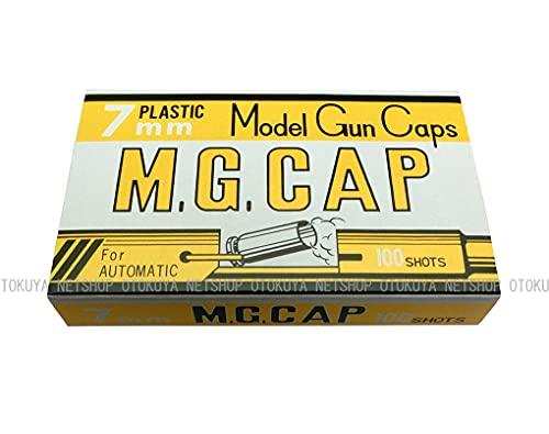 MGC M.G.CAP 7mm 黄色/モデルガン用 発火式キャップ火薬