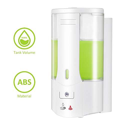 liuxiao 400ml automatische schuim zeep dispenser muur gemonteerd vloeibare zeep dispenser slimme sensor Touchless badkamer keuken