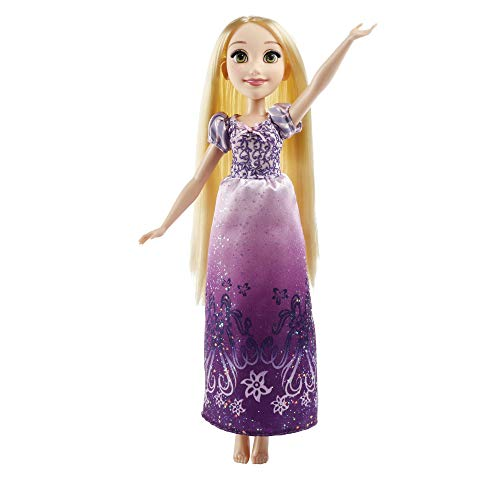 Disney Princess- Rapunzel Muñeca, Color Morado y Rosa (Hasbro B5286ES2)