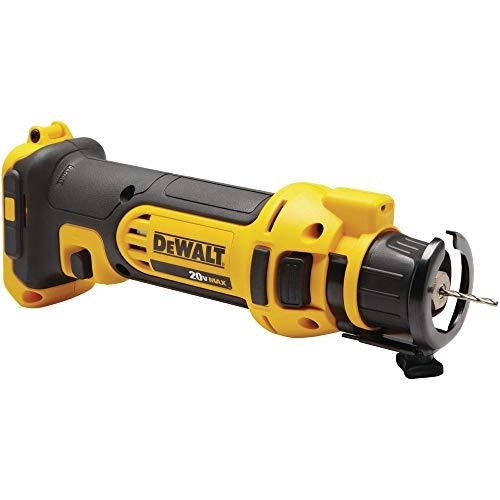 DEWALT 20V MAX Drywall Cutting Tool, Cut-Out, Tool Only (DCS551B)