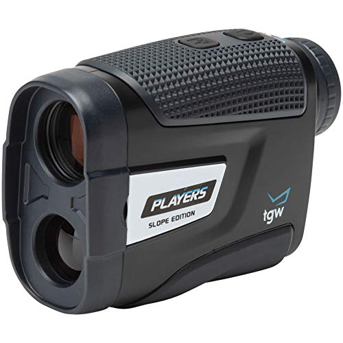 TGW Players Slope Golf Rangefinder with Pin Validation Black