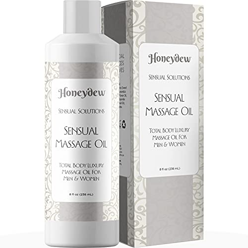 honeydew massage oils for bodies Sensual Massage Oil for Couples - Relaxing Massage Oil for Men and Women - Body Oil with All Natural Ingredients - Great for Aromatherapy Deep Tissue Massage with Pure Lavender Essential Oil for Skin