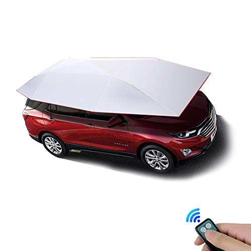 Car Covers Four-season Wireless Automatic Tent Cover, Umbrella Tent Carport Canopy Beach Tent With Anti-UV,Water-Proof,Proof Wind,Snow,Storm,Hail (Size:480CM*230CM) Full Covers