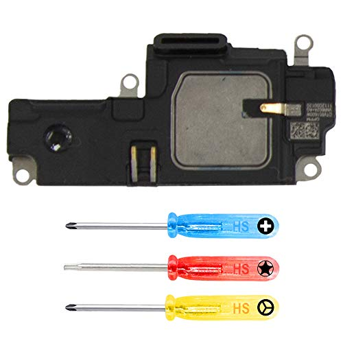 MMOBIEL Loud Speaker Compatible with iPhone XR 6.1 inch Ringer Buzzer Flex Cable Assembly Replacement incl. Screwdriver