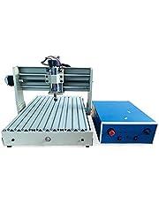 3040 CNC 4-axlad verktygssats 275 (X) mm*385 (Y) mm x 60 (Z) mm professionell fräsmaskin graveringsmaskin 400 W CNC MACH4 fräsmaskin för bearbetning av akryl, PVC, trä