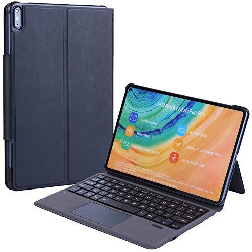 N\B Huawei MediaPad M6 10.8 Ultra Thin Keyboard Case Cover Ultra Slim Aluminio Teclado (TOUCHPAD Mouse) Funda Smart Case para Huawei MediaPad M6 10.8