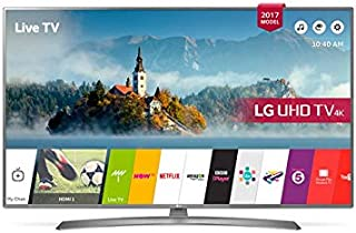 LG 65 Inch UHD 4K LED Smart TV With Built-In 4K Receiver - 65UJ670V