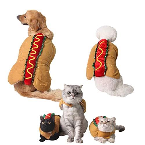 Accrie Halloween Party aankleden warm carnaval Hot hond hamburger verpakking pak