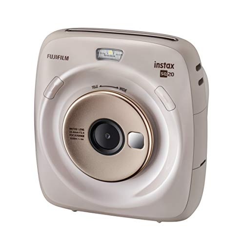 Instax Square SQ 20. Cámara híbrida instantánea Fujifilm - Color Beige.
