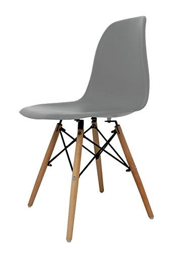Die spanische Stuhl 46x41x52 cm grau