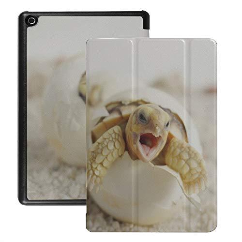 Custodia per tablet Fire 8 Hd in pericolo di estinzione Marine Turtle Fire Hd Tablet 8 Custodia per bambini (versione 2018 2017 2016, ottava/settima/sesta generazione) Con riattivazione/sonno