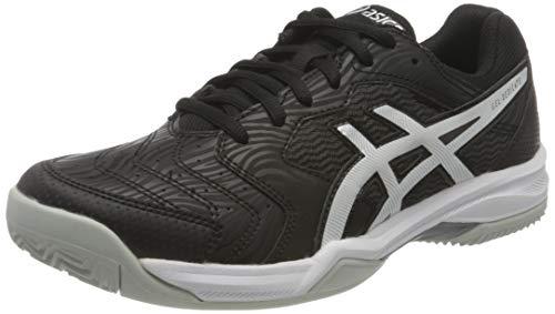 ASICS Gel-Dedicate 6 Clay, Zapatillas de Tenis Hombre, Negro Blanco, 43.5 EU