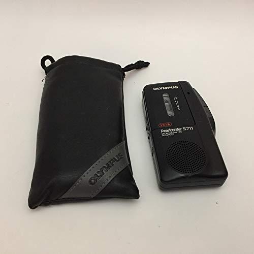 Olympus S 711 Mikro-Kassette Diktiergerät schwarz
