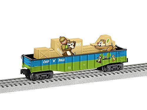 Lionel Trains - Chip-n-Dale Chasing Gondola, O Gauge (Disney)